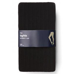 Variegated ribbed tights