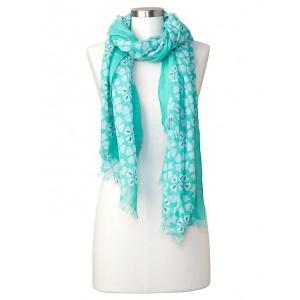 Clover print scarf