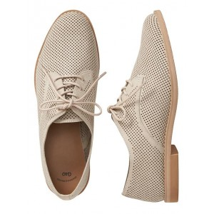 Perforated oxfords