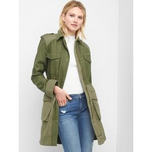 Utility trench coat