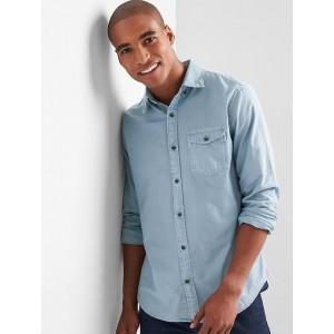 Oxford garment-dye standard fit shirt