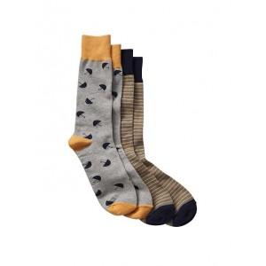 Mustache socks (2-pack)