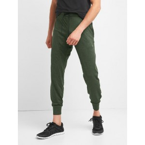 Brushed tech jersey joggers