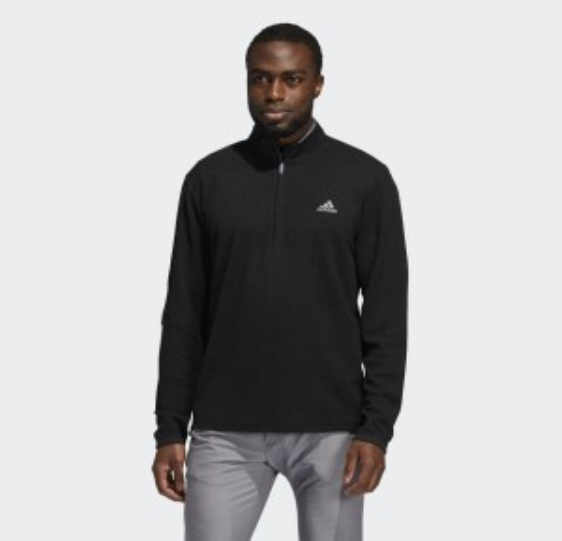 3-Stripes Quarter-Zip Pullover