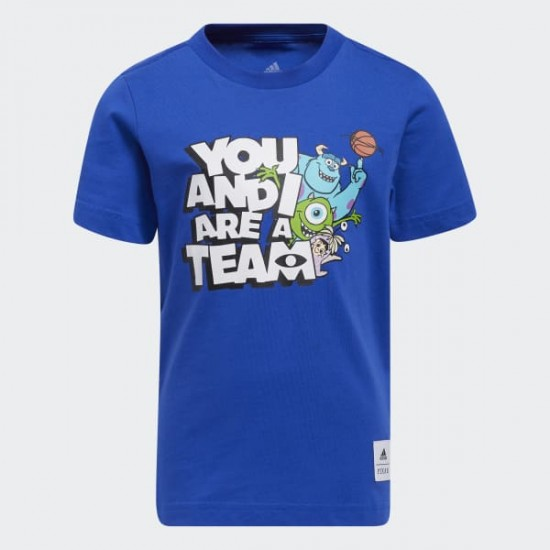 Little Kids You and I Are a Team Tee