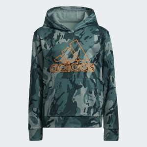 Core Camo Hooded Pullover