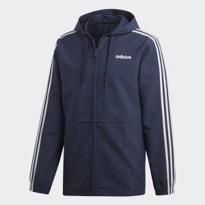 Essentials 3-Stripes Woven Windbreaker