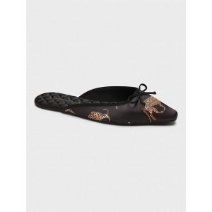 Pointy-Toe Indoor Slipper