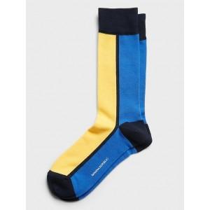 Modern Color-Block Sock
