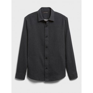 Heavyweight Double-Weave Shirt Jacket