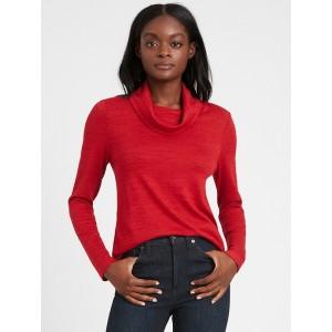 Luxespun Cowl-Neck T-Shirt