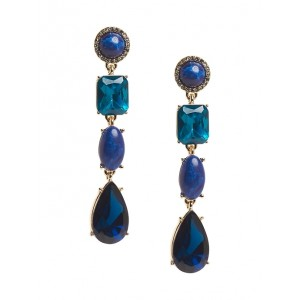 Linear Gemstone Earrings