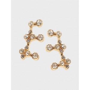 Stone Ear Crawler Earrings