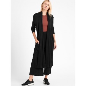 Cozy Ribbed Duster Cardigan