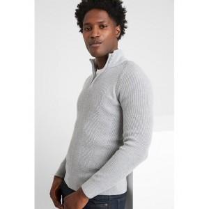 1/4 Zip Mock-Neck Sweater