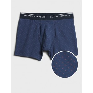 Organic Mini Square Print Boxer Briefs