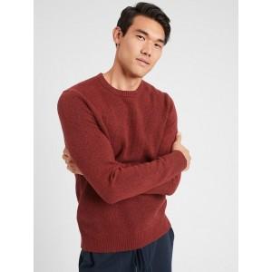 Cozy Waffle Crew-Neck Sweater