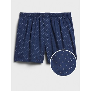 Mini Square Dot Print Boxers