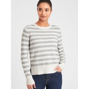 Petite Lofty Crew-Neck Sweater