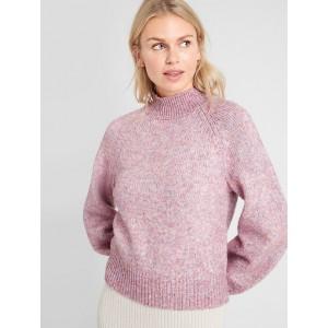 Petite Spacedye Turtleneck Sweater
