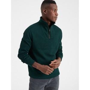 Marled Fleece Half-Zip Pullover