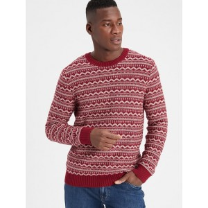 Fairisle Crew-Neck Sweater