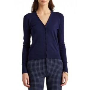 Cotton-Modal Cardigan Sweater