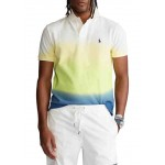 Classic Fit Dip-Dyed Polo Shirt