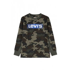Boys 8-20 Long Sleeve Camouflage Logo Graphic T-Shirt