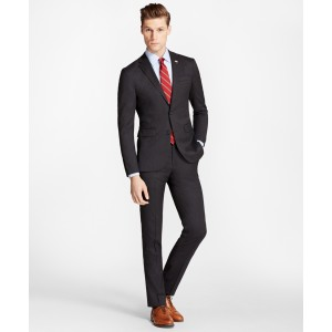 Milano Fit Stretch Wool Two-Button 1818 Suit