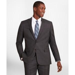 BrooksGate Regent-Fit Wool Twill Suit Jacket