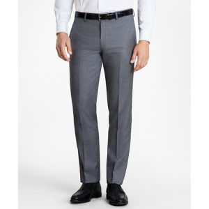 BrooksGate Milano-Fit Wool Twill Suit Pants