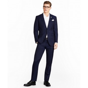 Milano Fit Two-Button Stripe 1818 Suit
