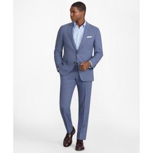 Regent Fit BrooksCool Subtle Plaid Suit