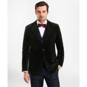 Regent Fit Velvet Tuxedo Jacket