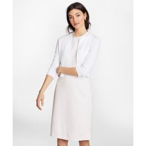 Supima Cotton Cropped Cardigan