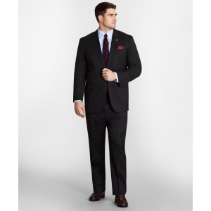 Big & Tall Stretch Wool Two-Button 1818 Suit