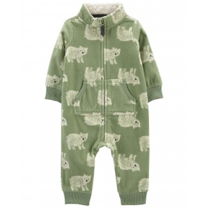 Bear French Terry Jumpsuit
