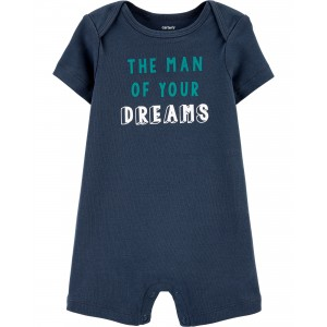 Man Of Your Dreams Cotton Romper