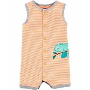 Chameleon Snap-Up Romper