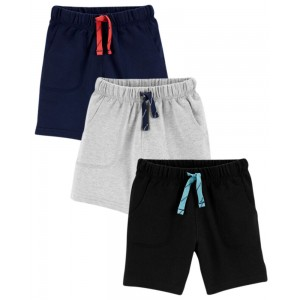 3-Pack French Terry Shorts