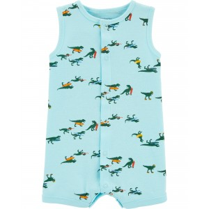 Dinosaur Snap-Up Romper