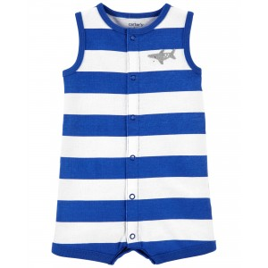Shark Cotton Romper