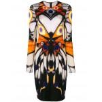 symmetric butterfly dress