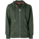 distressed zip hoodie
