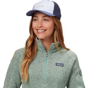 Pastel P-6 Label Layback Trucker Hat - Womens