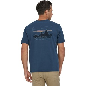 73 Skyline Regenerative Organic Pilot Cotton T-Shirt - Mens