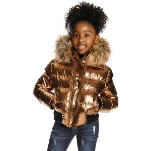 Kyla Puffer Coat - Girls