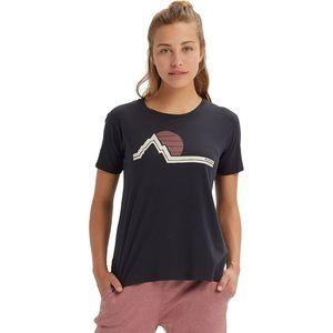 Classic Retro Short-Sleeve T-Shirt - Womens