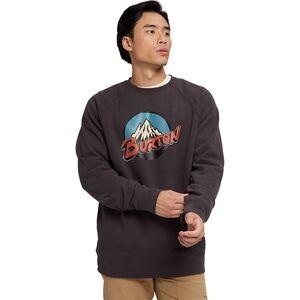 Retro Mountain Crew Sweatshirt - Mens
